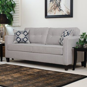 Serta Upholstery Elizabeth Queen Sleeper Sofa & Reviews