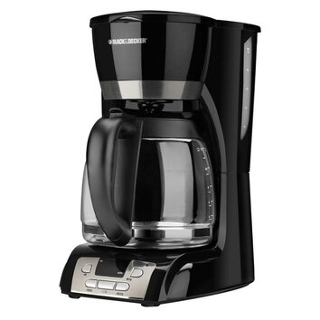 12 Cup Coffee Maker With Programmable Clock (49615) : Black & Decker 12 Cup Coffee Maker with Programmable Clock & Reviews Wayfair
