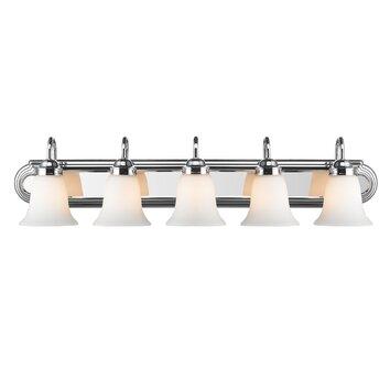 Wildon Home 174 Rochester 5 Light Vanity Light Amp Reviews