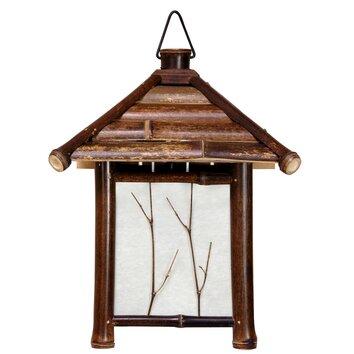 Oriental Furniture Pagoda 1 Light Mini Pendant Amp Reviews