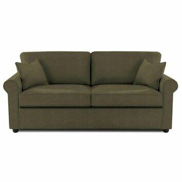 Klaussner Furniture Brighton Microsuede Queen Sleeper Sofa