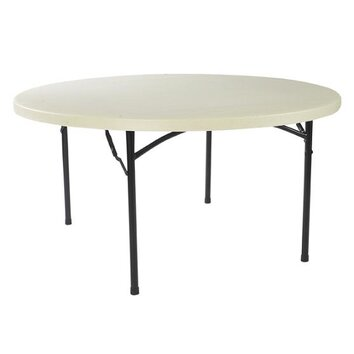 National public seating commercialine 60 round folding for 120 round table seats how many