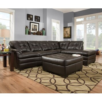 Simmons Upholstery Apollo 2 Piece Sectional Reviews Wayfair