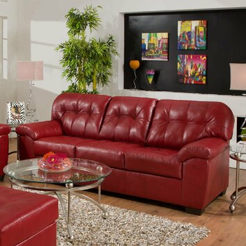 Simmons Upholstery Showtime Sofa amp Reviews Wayfair