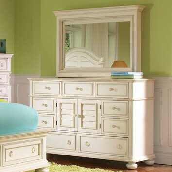 how to build a bathroom cabinet with drawers placid cove 9 drawer combo dresser with mirror wayfair 16794