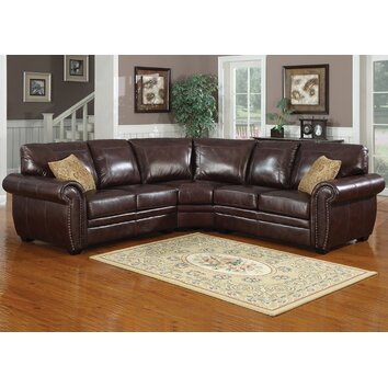 Lazy Boy Sectionals >> AC Pacific Louis Symmetrical Sectional & Reviews | Wayfair