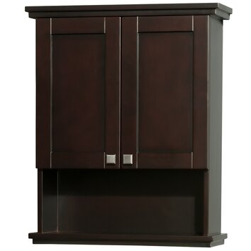 Wyndham collection acclaim 25 x 30 wall mounted cabinet reviews wayfair for Wyndham bathroom wall cabinet