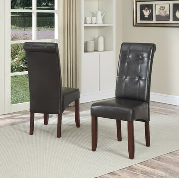Simpli Home Cosmopolitan Parsons Chair Amp Reviews Wayfair