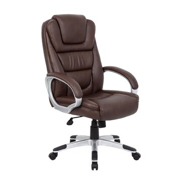 Office Products High Back Executive Office Chair With Lumbar Support