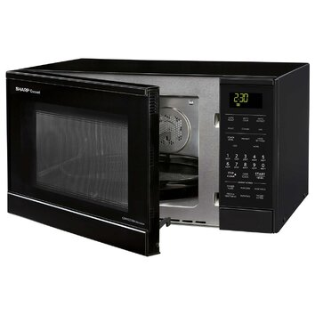 Sharp Carousel 0.9 Cu. Ft. 900W Countertop Convection Microwave Oven ...