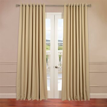 Half price drapes turquoise doublewide curtain panel - Half Price Drapes Grommet Doublewide Plush Blackout Curtain Panel