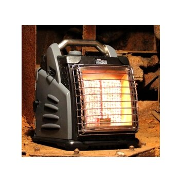 Shinerich the boss portable 20 000 btu infrared compact propane space - Small propane space heater collection ...