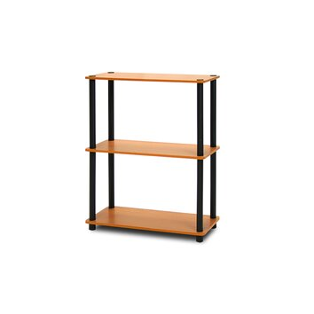 furinno turn n tube 3 tier storage rack display shelf. Black Bedroom Furniture Sets. Home Design Ideas