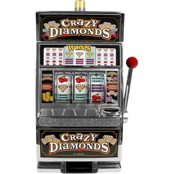 diamonds slot machine bank