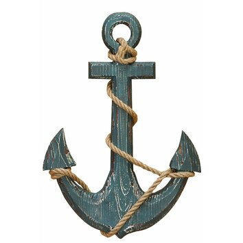 Ship anchor with rope nautical wall d%2525c3%2525a9cor 91620