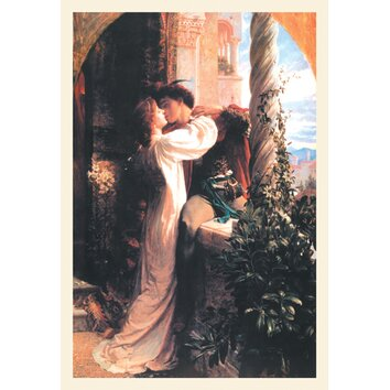 Romeo And Juliet By Dicksee Painting Print On Wrapped