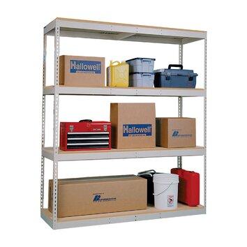 Double Rivet Boltless Decking Frame 84 Wayfair Supply