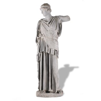 Amedeo Design ResinStone Roman Man Statue - Roman Man Statue is a grand sculpture and a fantastic addition to any classic garden. Remarkably detailed and accurate, this statue resembles a classically clothed Roman man in a toga and is a