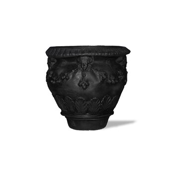 Amedeo Design ResinStone Della Robbia - The Della Robbia Planter is a wonderful antiquary piece. Its design dates back to ancient Roman times, providing a glimpse into the visual perspective the Romans attempted to achieve in their ceramics.