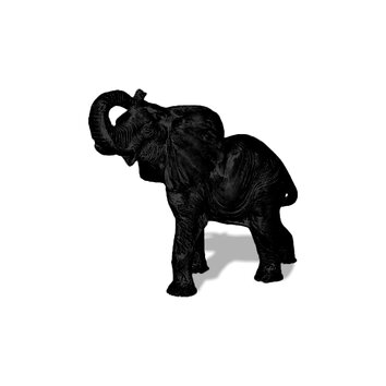Amedeo Design ResinStone Elephant Garden Statue - Small elephant is your perfect chance to take a little bit of African with you. Small in stature in comparison to the life-sized elephant, it's small but charming. Portraying an elephant right before he