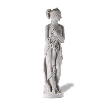 Amedeo Design ResinStone Aphrodite Statue - Featuring Aphrodite the Greek goddess of love and beauty, Aphrodite Statue is one of most romantic statues. Based off an ancient Greek statue, this piece is both serene and beautiful and is ready to