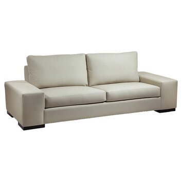 Vince Wide Arm Sofa Wayfair