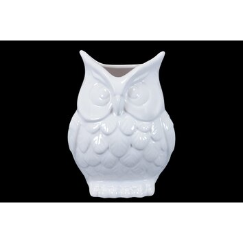 Ceramic Owl Vase Wayfair