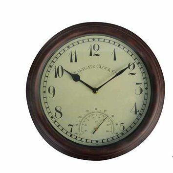 Esschertdesign World Of Weather 12 Quot Clock And Thermometer