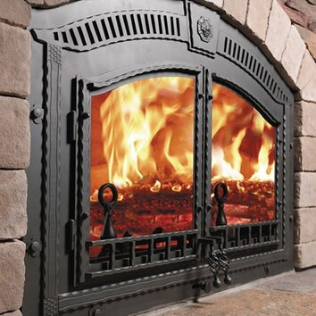Napoleon High Country Wood Burning Fireplace Insert Reviews Wayfair