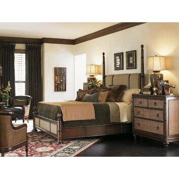 tommy bahama home landara panel customizable bedroom set reviews