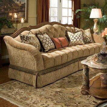 Michael amini villa valencia living room collection for Michael apartment sofa