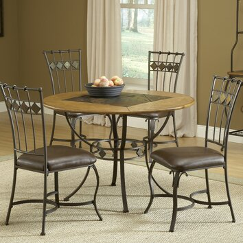 hillsdale lakeview 5 piece dining set reviews wayfair