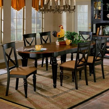 Hillsdale Northern Heights 7 Piece Dining Set Amp Reviews