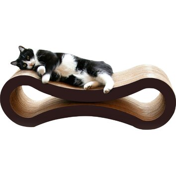 Petfusion ultimate cat scratcher lounge bed reviews for Chaise lounge cat scratcher