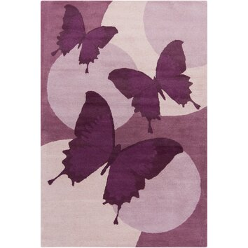 how to put an accent over a letter filament cinzia purple butterfly area rug amp reviews wayfair 22345 | Filament LLC Cinzia Purple Butterfly Area Rug CIN046 576