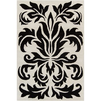 how to put an accent over a letter cinzia grey black floral area rug wayfair 22345