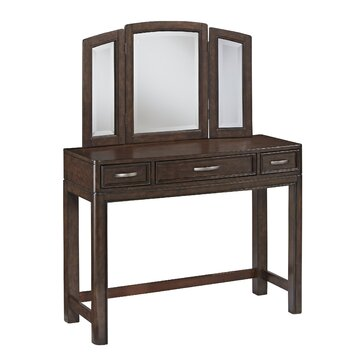 Home Styles Crescent Hill Vanity With Mirror Reviews Wayfair