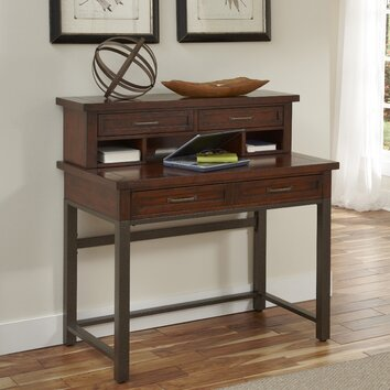 Home Styles Cabin Creek Computer Desk With Hutch And
