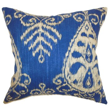 Wayfair Decorative Pillow Covers : Hargeisa Ikat Throw Pillow Cover Wayfair