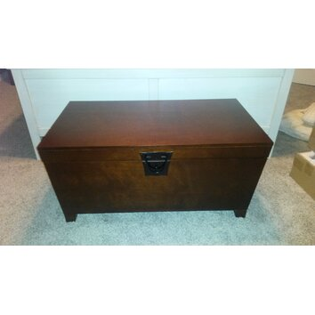 Charlton Home Bischop Trunk Coffee Table With Lift Top Reviews Wayfair