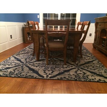 Andover Mills Blue Area Rug Amp Reviews Wayfair