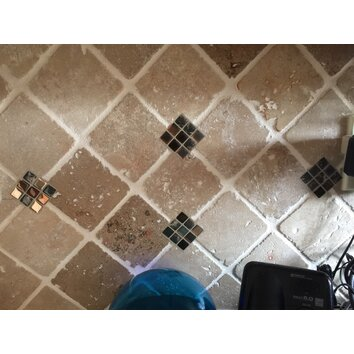 Smart Tiles Mosa 239 K 11 55 Quot X 9 65 Quot Mosaic Tile In Minimo