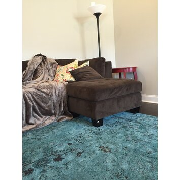 Stylehaven Renaissance Teal Area Rug Amp Reviews Wayfair