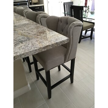Orient Express Furniture Villa 26 Quot Bar Stool With Cushion