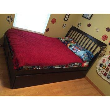 Atlantic Furniture Orleans Flat Panel Footboard With Urban Trundle Bed Reviews Wayfair