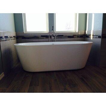 Wyndham Collection Mermaid 71 Quot X 34 Quot Soaking Bathtub