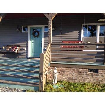 august grove porch swing reviews wayfair. Black Bedroom Furniture Sets. Home Design Ideas