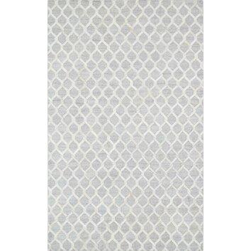 Cowhide hand loomed area rug ptx 3106