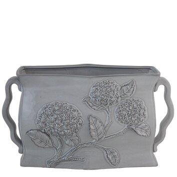 Hydrangea Short Vase