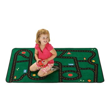 Kids Value Rugs Go Go Driving Kids Area Rug
